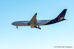 Brussels Airlines, OO-SFU (Bob from Caledon) Tags: aircraft airplanes aeroplanes arrivals a330223 cyyz brusselsairlines runway05 torontointernationalpearsonairport oosfu