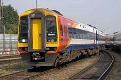 159007 at Salisbury (Railpics_online) Tags: 159007 salisbury class159 diesel multipleunit sprinter dmu dieselmultipleunit passenger train railway railcar uk