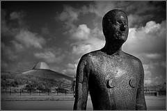 First Contact..................16th April 2016 (Cassini2008) Tags: crosby antonygormley firstcontact anotherplace