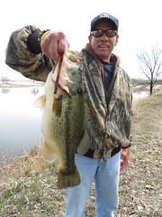 Me With A 6.2 Pound Large Mouth Bass (fethers1) Tags: fishing flyfishing largemouthbass lakeladora rockymountainarsenalnwr