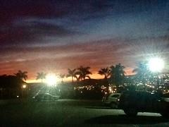 """ Anocheser en Libertad "" (ColFineArtistMar1) Tags: city sunset cars lights mx tress loscabos evenning"