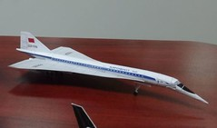 Tupolev Tu-144 Free Airplane Paper Model Download (PapercraftSquare) Tags: charger 1300 tupolev 1144 tu144 tupolevtu144 airplanepapermodel