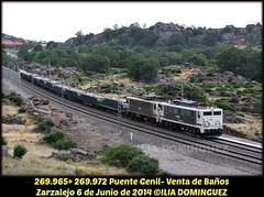 idn3943 (ribot85) Tags: railroad train tren trenes spain trains railways japonesa caf renfe traviesas 269 mercante zarzalejo mercancias infraestructura 2699 269972 269965