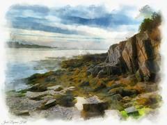 Rocky Coast of Maine (jack byrnes hill) Tags: maine landsend baileyisland rockycoastofmaine mainecoastjackbyrneshill