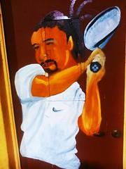 Un corto homenaje en un colegio municipal colegio #mexico un grande del tenis chileno #chinorios #tennis #topten #marcelorios (@edsonyb) Tags: mexico tennis topten chinorios marcelorios