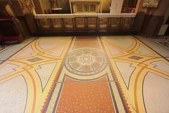 Mosaikboden Marienkapelle Rheinbllen (doerrebachtaler) Tags: hdr hunsrck stiftung rheinbllen marienkapelle puricelli puricellistift
