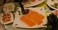 Rkelaks p asiatisk eller kinesisk mte (jonarnefoss2013) Tags: china food kina fisk laks salomon nikon1 rkelaks smokedsalomon