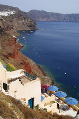 Home with a view (Steenjep) Tags: sea house holiday home view santorini greece caldera oia ferie grkenland