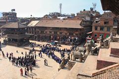 #tbt Bhaktapur Dubar Square, Nepal (hectordotlee) Tags: nepal throwback bhaktapur tbt centralregion