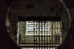 Peephole (That Girl, Teri) Tags: detroit cell creepy prison jail exciting dehoco