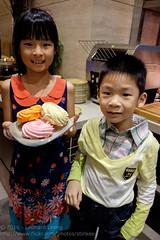 Gobs of sugar (Stinkee Beek) Tags: erin ethan onefarrer escaperestaurant