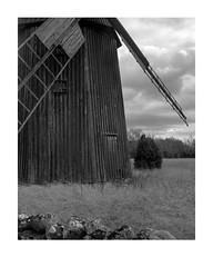 Closeup windmill (Theolde) Tags: film kodak 4x5 lf tmax100