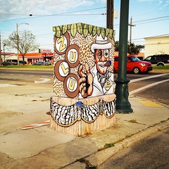 Broad St., New Orleans - Community Visions Unlimited Utility Box Project (woody lauland) Tags: art la louisiana neworleans publicart nola zulu neworleansla utilitybox artinpublicspaces zulusocialaidandpleasureclub hipstamatic hipstaprint communityvisionsunlimitedutilityboxproject communityvisionsunlimited cvunola