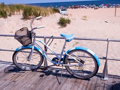 Cruiser (johnemount) Tags: beach umbrella asburypark asbury cruiser beachumbrella beachcruiser