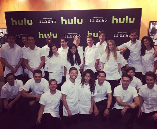 Yesterday started bright & early w/ a great all day event for #TheContenders at the #DGA & ended with a great party for #Hulu!  Such a fun 60's diner theme for the Hulu event with @thefoodmatters                                               .