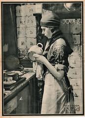 stad Amsterdam 1934  Helga Gogh in Dood Water (janwillemsen) Tags: movie volendam magazineillustrationdestadamsterdam1934 helgagogh