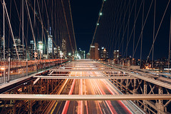 You Might Miss It (Dj Poe) Tags: nyc newyorkcity longexposure bridge 6 cinema ny color brooklyn zeiss availablelight manhattan sony brooklynbridge bklyn f2 cinematic tones seconds 25mm lighttrail carlzeisslenses zf2 djpoe distagont225 andrewmohrer sonya7rii a7rii sonyilce7rm2
