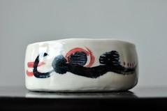 DSC_9719 (joone!) Tags: ceramics pottery handbuilt handpainted handmade bowl porcelain handbuild