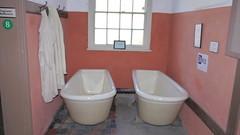The vagrants bathroom at the Workhouse Museum, Ripon (rmvolunteers) Tags: bath poor lawandorder tramps ripon workhouse vagrants riponmuseumtrust theworkhouseripon