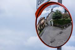 Look in the mirror (Meg4mi) Tags: street city urban reflection mirror pentax italie reflects urbex 55300 coarezza pentaxart