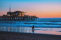 Santa Monica (onthe-blvd) Tags: california santa ca beach photography pier young monica ontheblvd instagram yngkillers
