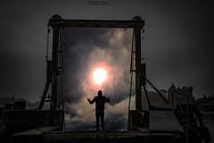 Gateway To Infinity (Fredrik Lindedal) Tags: me myself harbor artwork nikon darkness time infinity future gateway portal dimension fictional d7200