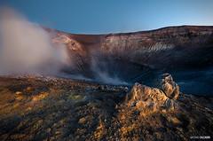 Nella fossa del Vulcano (Massilo) Tags: blue blu cielo sicily sicilia vulcano eolie isola fumarole isole fossa