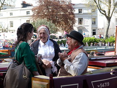 On this stunnng Spring day the pretty waterways of Little Venice was even more colourful than usual, as everyone got together for the annual gathering of canal boats. Lovely afternoon in the sunshine. (Inga Rasmussen) Tags: sunshine boats outdoors smiles chatting canel laugher