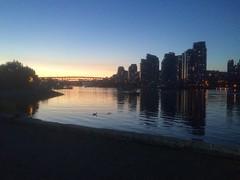 IMG_1299 (Sweet One) Tags: sunset canada vancouver bc britishcolumbia falsecreek