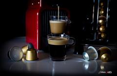 Cafecito maanero (adrivallekas) Tags: morning coffee caf still reflect bodegn espresso monday goodmorning lunes reflejos espuma nespresso cafetera ristretto canonef24105mmf4lisusm cpsulas buenosdas cafsolo canoneos6d