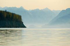 Morning At Knik Alaska (*Ron Day*) Tags: ocean water alaska sunrise landscape scenic panasonic anchorage inlet knikarm knik chugach ronday fz1000