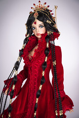 Ruby queen (Amadiz) Tags: mari wig bjd iplehouse
