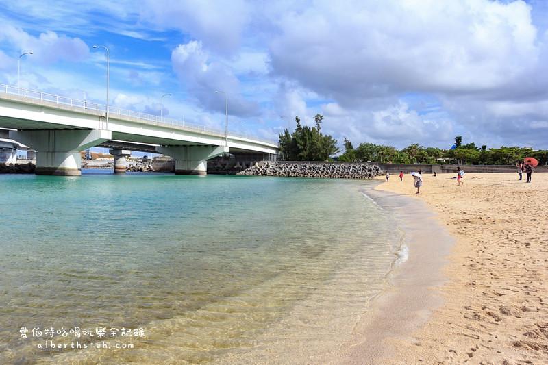 沖繩自駕自由行.波之上海濱