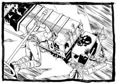 MAD MAX FURY DRAW - Michele Bertilorenzi (Sugarpulp) Tags: comics tribute fumetti madmax illustrazione sugarcon sugarpulp sugarpulpconvention