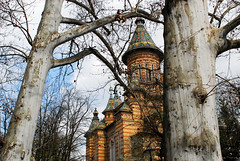 Timisoara, Romania (PM Kelly) Tags: travel tree church spring tour exterior tourist romania frame transylvania orthodox timisoara timis outstandingforeignphotographersvisitingromania