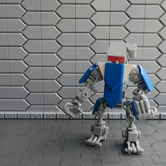Utility Bot (Wami Delthorn) Tags: new robot lego space hexagon elementary