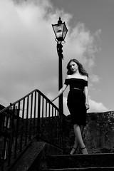 Chloe (maxbryan92) Tags: street light portrait woman white black classic lamp face female scotland globe model nikon ranger south chloe forth quadra queensferry southqueensferry gbr d4 gaffney elinchrom