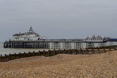 Eastbourne D5150146 (tony.rummery) Tags: sea england seascape pier unitedkingdom shingle olympus eastbourne gb southcoast omd em10 mft microfourthirds