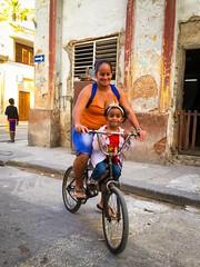 Havana. Cuba (H.L.Tam) Tags: street bicycle havana cuba sketchbook cuban iphone habanavieja cubanfaces cubanbicycle iphone6s harbana