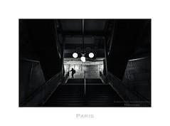 Paris n48 Cite (Nico Geerlings) Tags: paris france subway darkness metro 28mm underworld parijs iledelacit iledelacite elmarit metrocite metrocit nicogeerlings leicammonochrom ngimages nicogeerlingsphotography