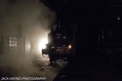 Gleam of light in the steam. (Jack Haynes Photography) Tags: heritage train photography events centre great railway steam western timeline british locomotive didcot oxfordshire charter preservation 1466