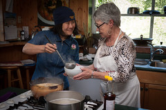Kallayanee's Kitchen: The Best Thai food you can learn to make  on Vancouver Island (Ry Glover) Tags: ca canada britishcolumbia vancouverisland subject cookingclass kaki 16x9 northsaanich thaicuisine 6x4 barbarabrown 160430 privateclass kallayaneeskitchen authenticthaicookingclasses