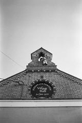Man climbing Pidley Village Hall (tercrossman87) Tags: film home canon 28mm epson hp5 vivitar development ilford 119 ftb v550 lc29 ilfotec