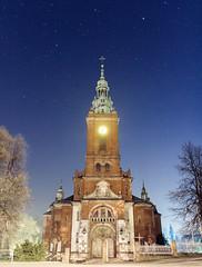 Koci pw. NSPJ w Suoszowej (d2luk) Tags: church night stars dolina noc koci maopolska szlak gwiazdy prdnik orlich gniazd suoszowa