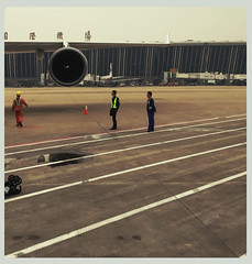 (michel banabila) Tags: china lines airport shanghai pudong instagram