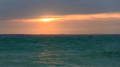 AGP_2989 (Scobie62) Tags: sunset sea solent portsmouth