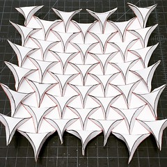 (mike.tanis) Tags: art architecture paper design triangle origami tessellation papercraft ronresch
