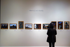 Lawrence, The Migration Series, 1940-41 (60 panels), gallery view, Phillips Collection