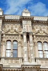 "Dolmabahçe Palace Detail (Christopher M Dawson) Tags: travel building tourism architecture turkey ataturk istanbul palace international government sultan dawson turkish dolmabahçe palace"" cmdawson 184356 ©2015 ""dolmabahçe"