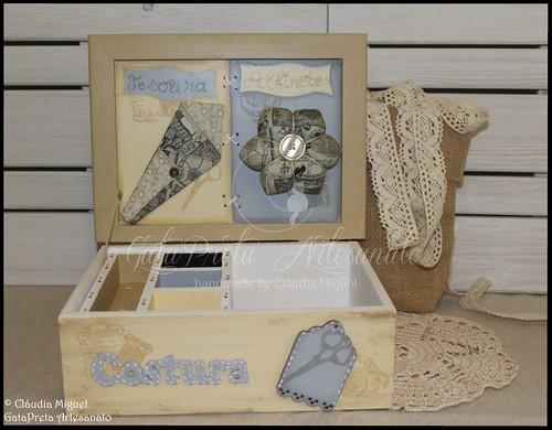 """Caixa de costura """"My Vintage Lace"""""""